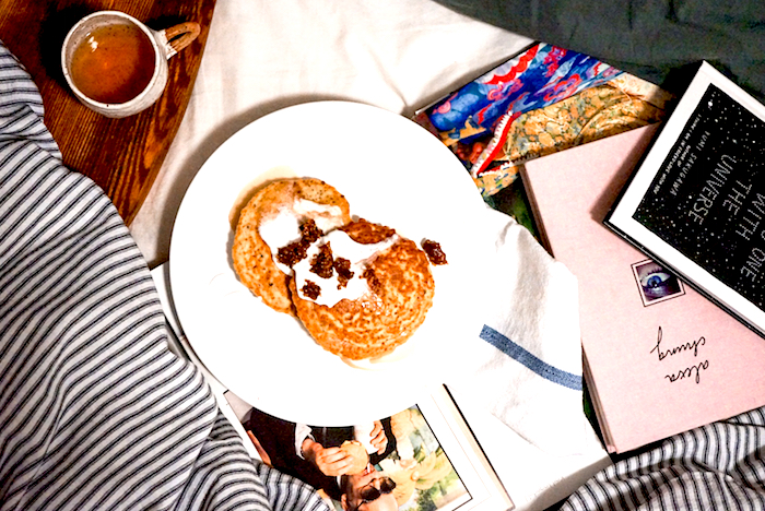 Healthy Sunday brunch dishes by Raquel Griffin on The Numinous