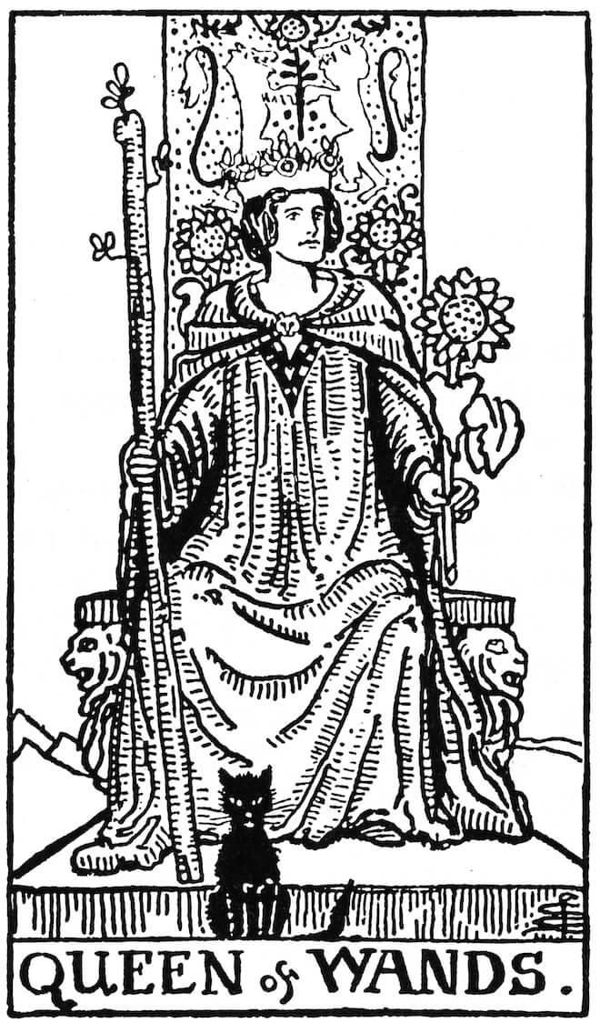 the tarot coloring book on The Numinous