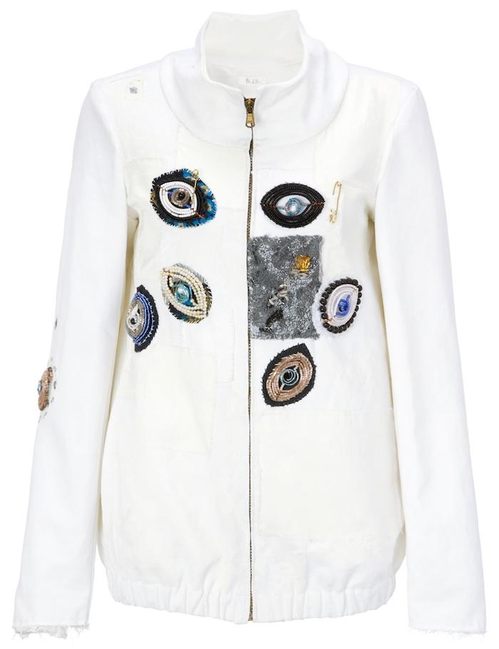Jacket, $1085, Myrza De Muynck @ Avenue123.com