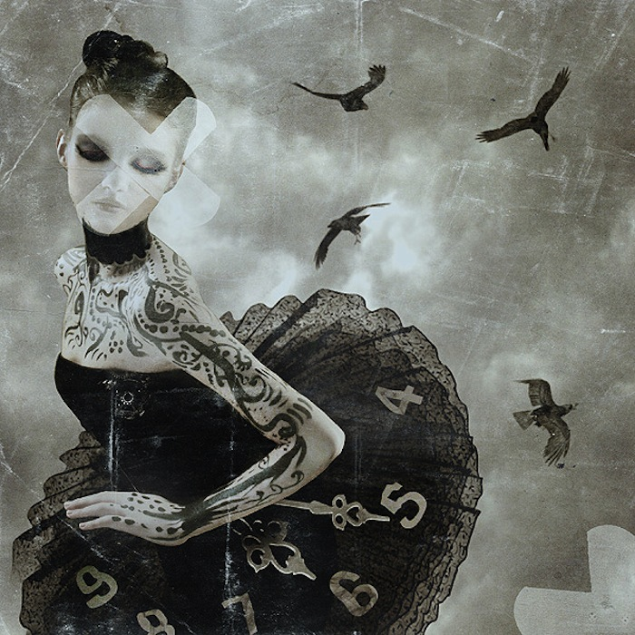 Halloween ballet dancer with birds and a tutu by Nathalie Shau. Read more at Thenuminous.net!