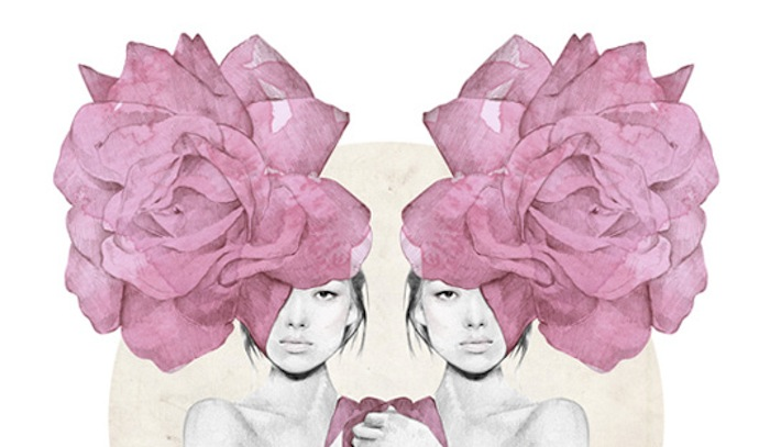 Fashion illustration of women with roses by Kelly Smith. Click to read more!