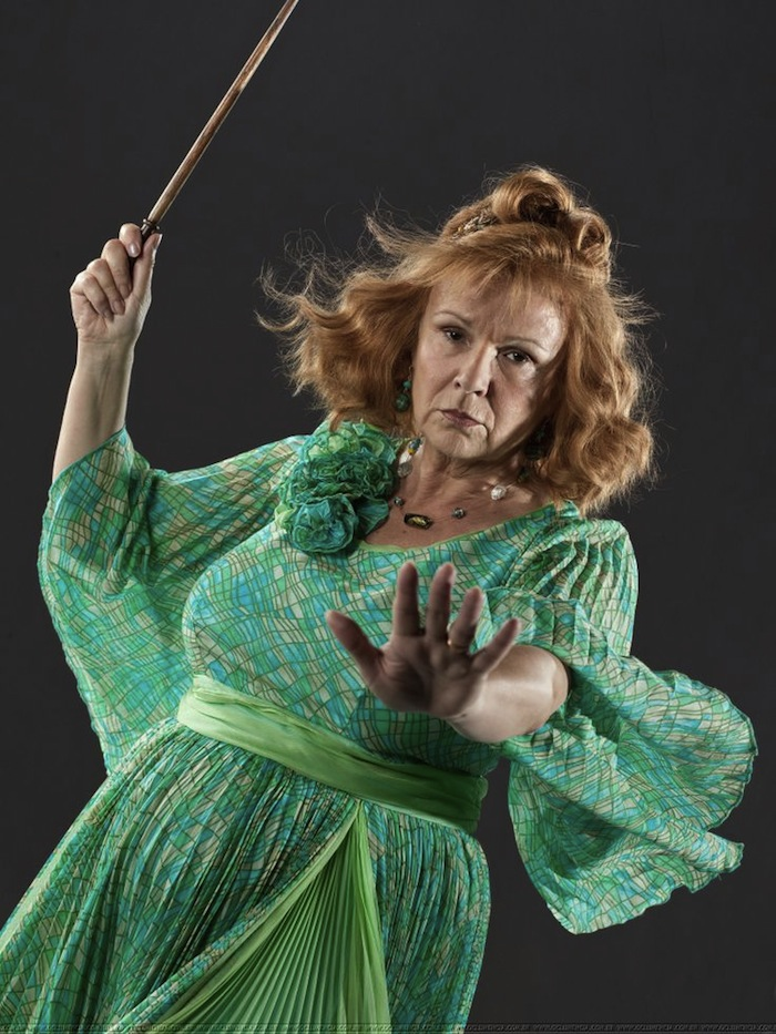 Molly Weasley as the Queen of Wands in Tarot. Read more at TheNuminous.net!