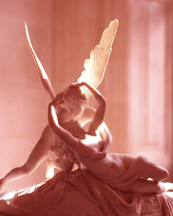 Psyche Revived by Cupid's Kiss by Antonio Canova. Read more at Thenuminous.net!