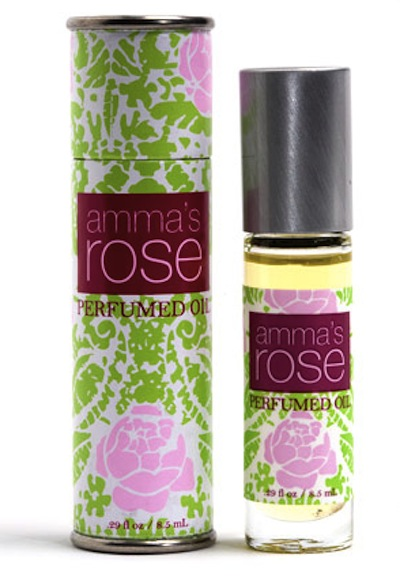 Rochelle Schieck's favorite Amma Rose Oil. Read more at TheNuminous.net!