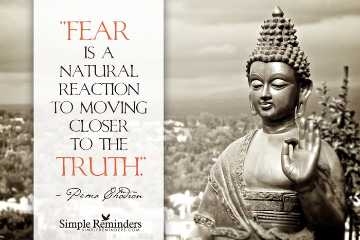 Pema Chodron quote featured on TheNuminous.net