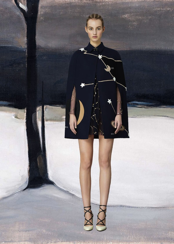 valentino-pre-fall-2015 cosmic cape featured on TheNuminous.net