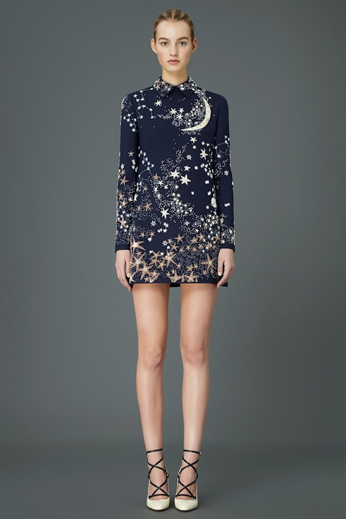 Valentino's cosmic 2015 pre-fall collection featured on TheNuminous.net