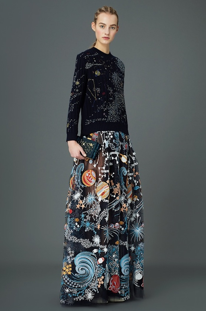 Valentino's cosmic pre-fall 2015 collection featured on TheNuminous.net