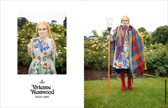 Vivienne Westwood ad campaign featured on TheNuminous.net