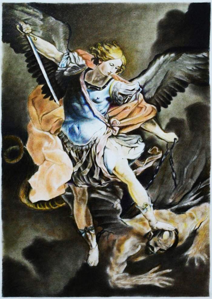 Archangel Michael by Romnick Toledo on TheNuminous.net