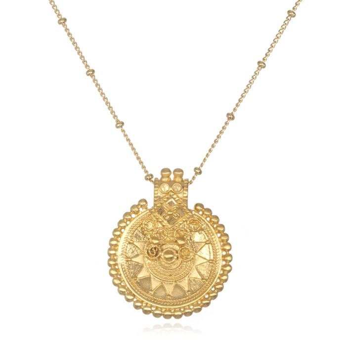 "The Mandala necklace: ""a reminder of the sacred place we can always go"""