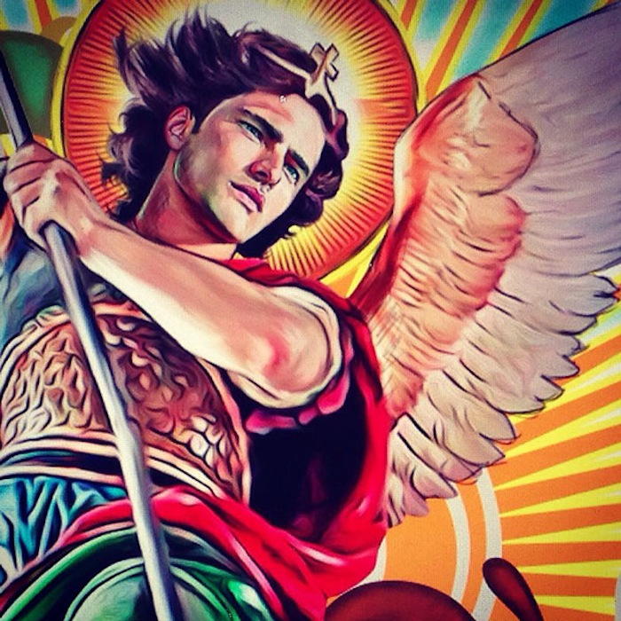 Saint Michael the Archangel by Jesus R. Sanchez on TheNuminous.net