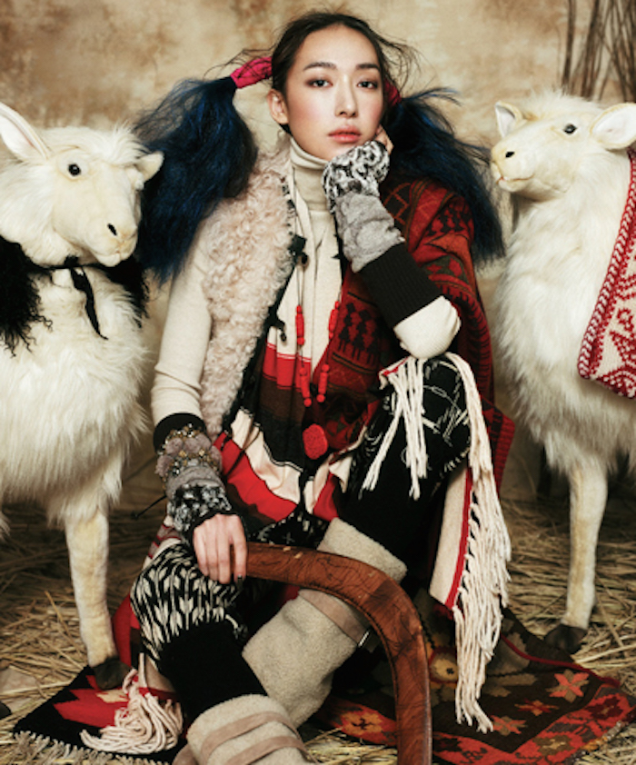 8 themes to work with in the 2015 year of the sheep fashion shoot featured on Thenuminous.net