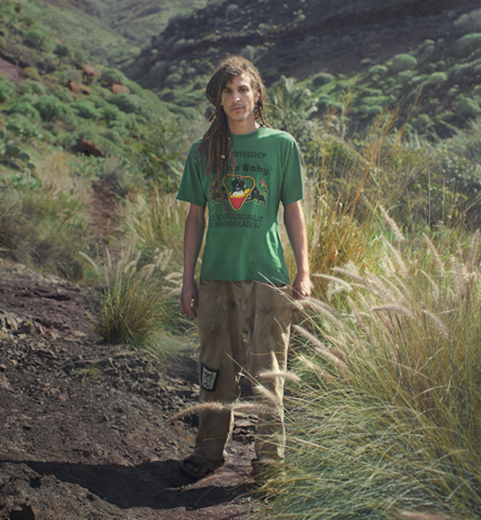 rainbow gathering portrait series by Benoit Paille featured on Thenuminous.net