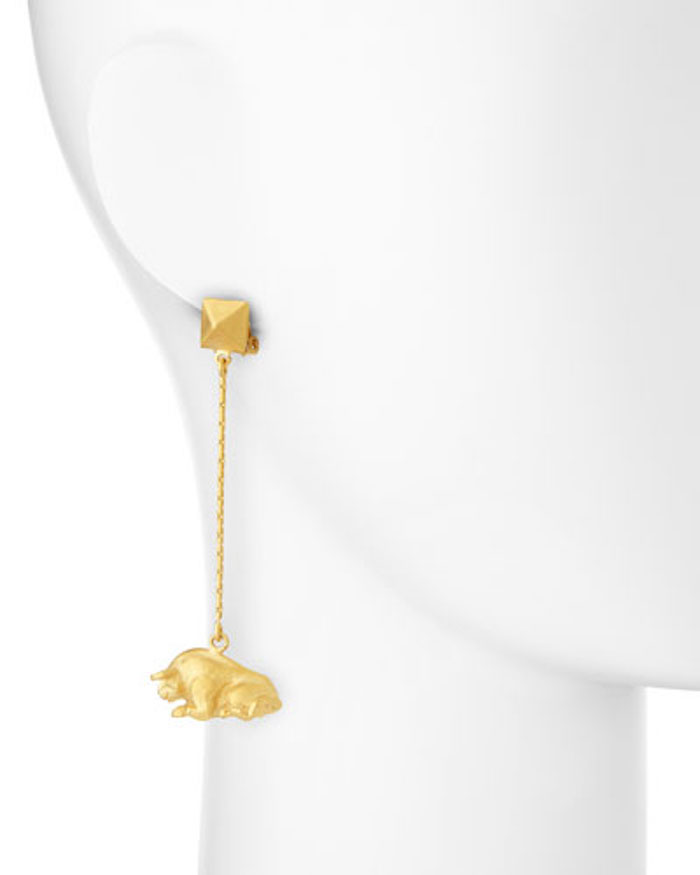 Taurus drop earrings by Valentino