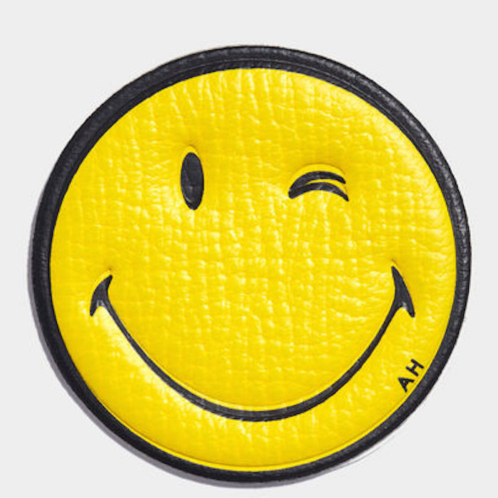 anya hindmarch smiley face wink sticker charlotte stockdale thenuminous.net