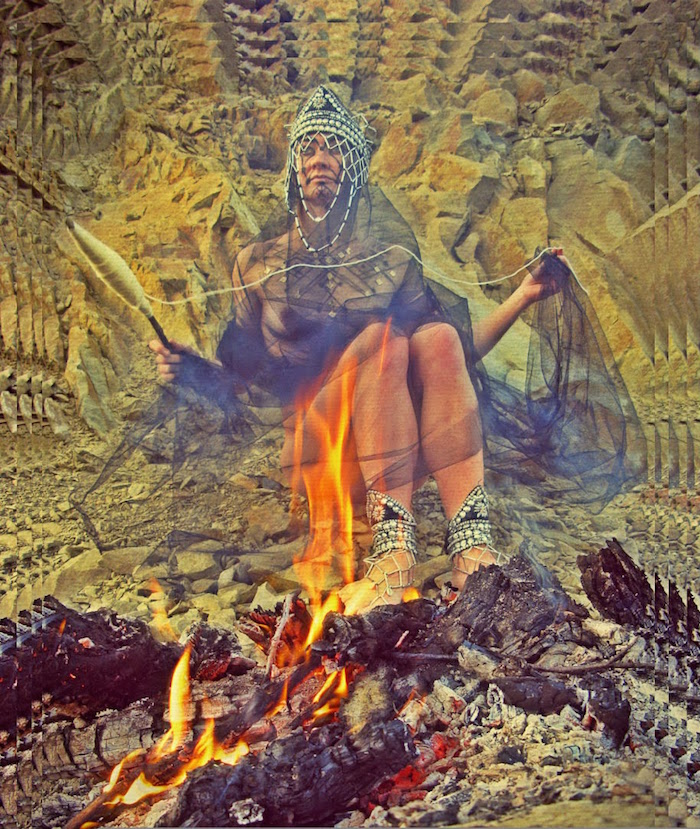 Burn It All by Karolina Daria flora shaman school on thenuminous.net