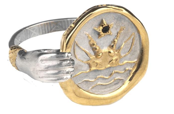 Capricorn ring, Jessica De Lotz