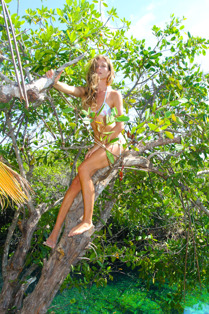 Rebecca Jo Phillips shot by Victoria Keen in Tulum