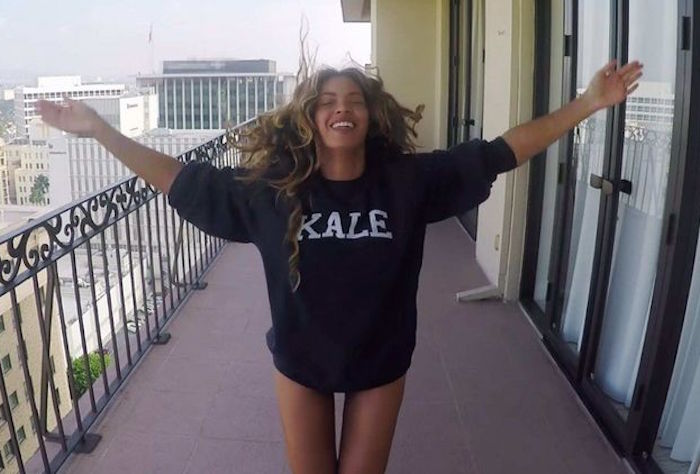 Beyonce kale sweatshirt featured on The Numinous