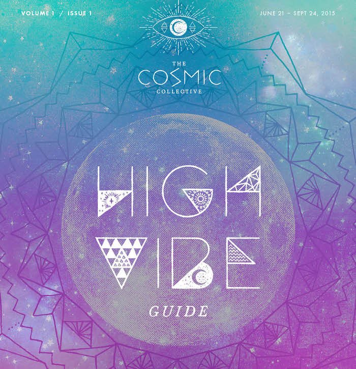 High vibe guide by the cosmic collective featured on the numinous