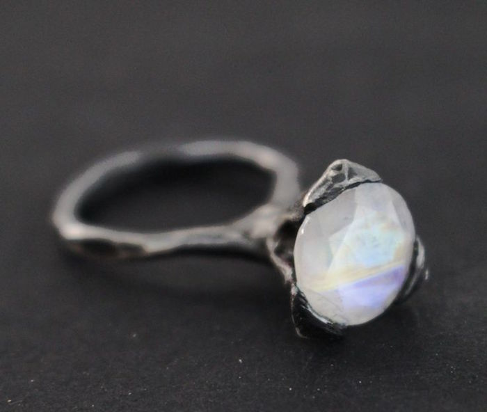 Paula Hagerskans Cone Ring Moonstone, $340 on the numinous