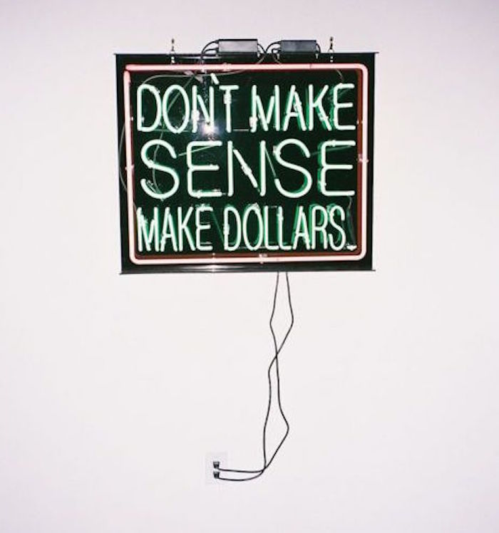 don't make sense make dollars neon sign article how to cast a money spell for the numinous