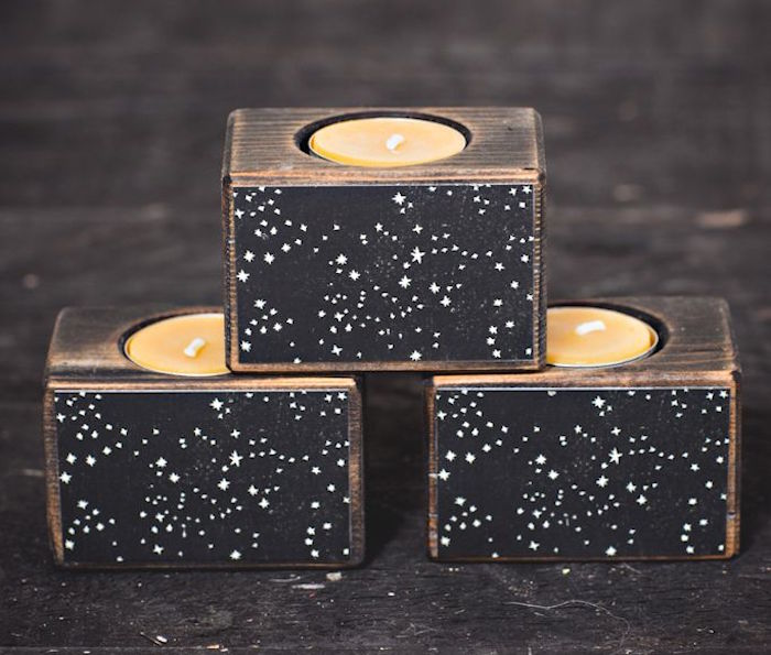 Peg & Awl Constellation Candle Block, £23 on the numinous