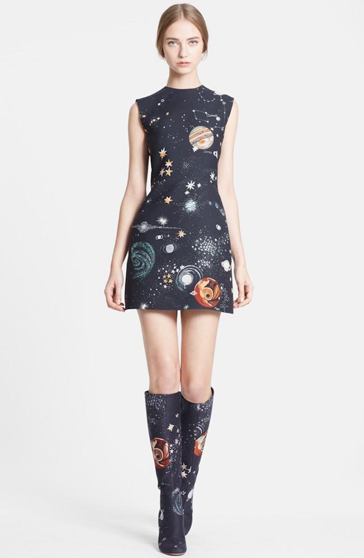 Cosmic print dress, Valentino pre-fall 20015