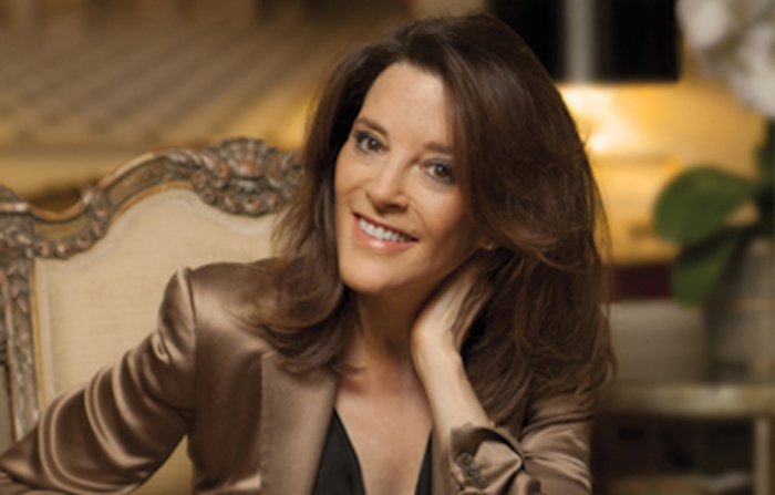 marianne williamson interview for The Numinous
