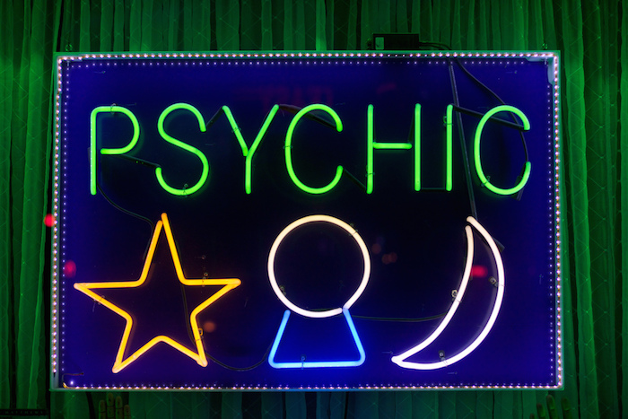 Good Psychic Hygiene post with neon sign on The Numinous