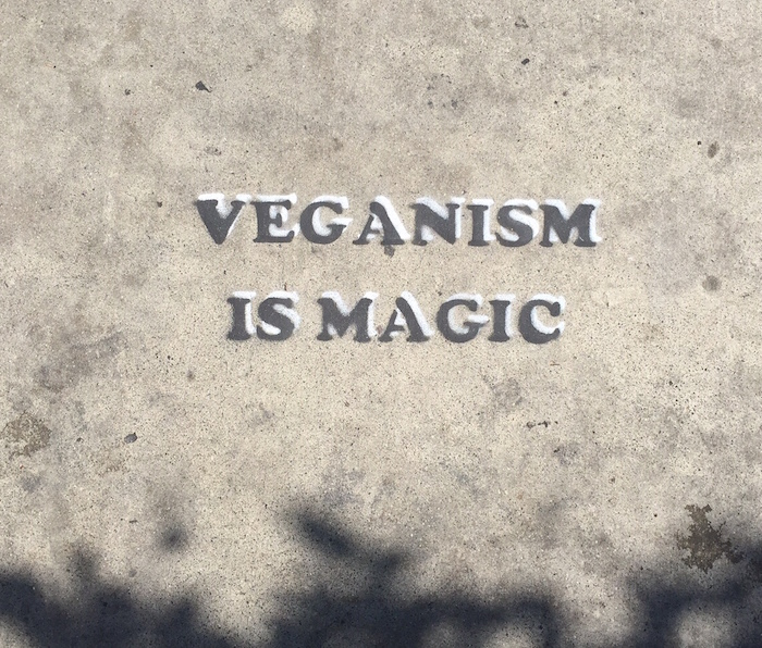 Veganism is magic cowspiracy review on The Numinous