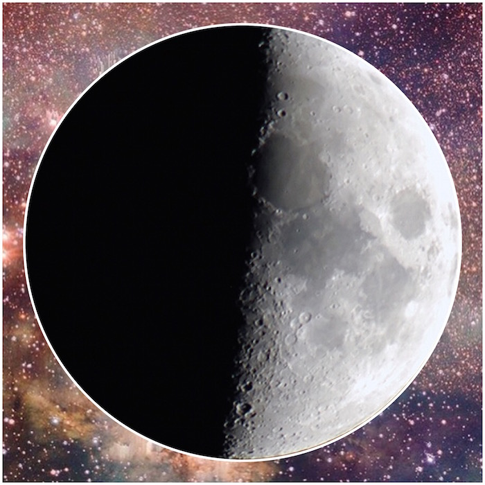 third quarter moon phase on the numinous