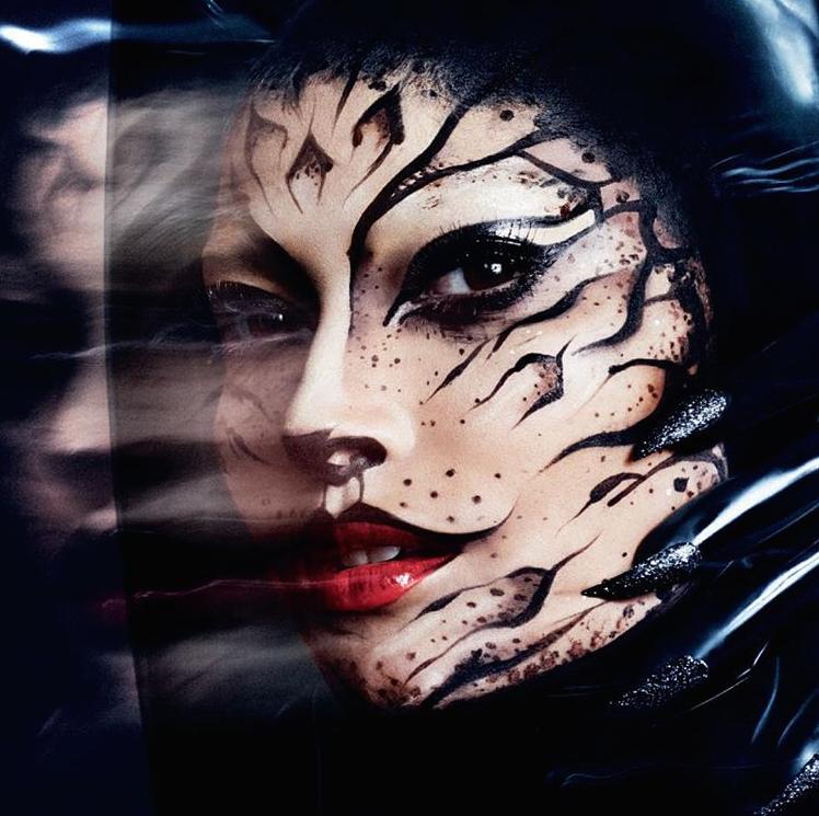 Black Cat Halloween Make-up Tutorial on The Numinous