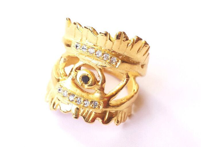 Eye of the Warrior Ring, $1985, Communion by Joy