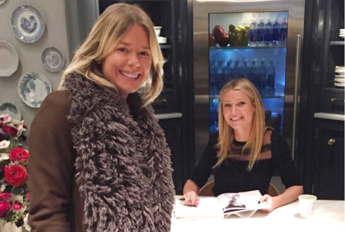 Ruby Warrington and Gwyneth Paltrow at the Goop MRKT on The Numinous