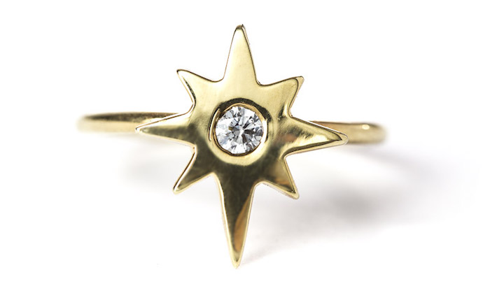 Lone Star ring, $1080, Rock & Raw on The Numinous