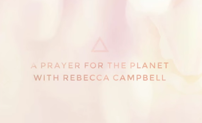 a prayer for the planet chanting kundalini meditation with Rebecca Campbell and The Numinous