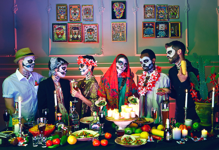 how to survive the holidays last supper illustration by Ofir Abe on The Numinous
