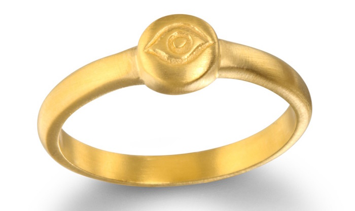 Eye of Protection ring, $49, Satya Jewelry on The Numinous