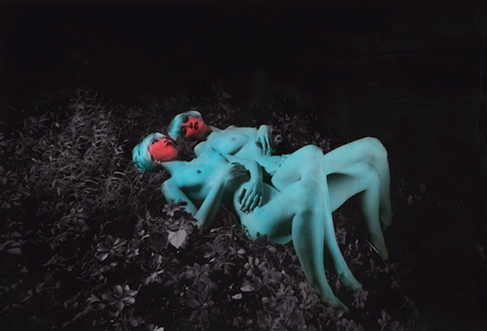 Two blue nudes by Shae DeTar featured on The Numinous