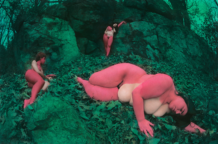 pink and green nudes by Shae DeTar featured on The Numinous