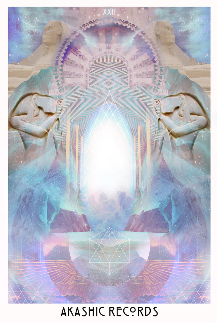 The Starchild Taror Akashic Records card on The Numinous
