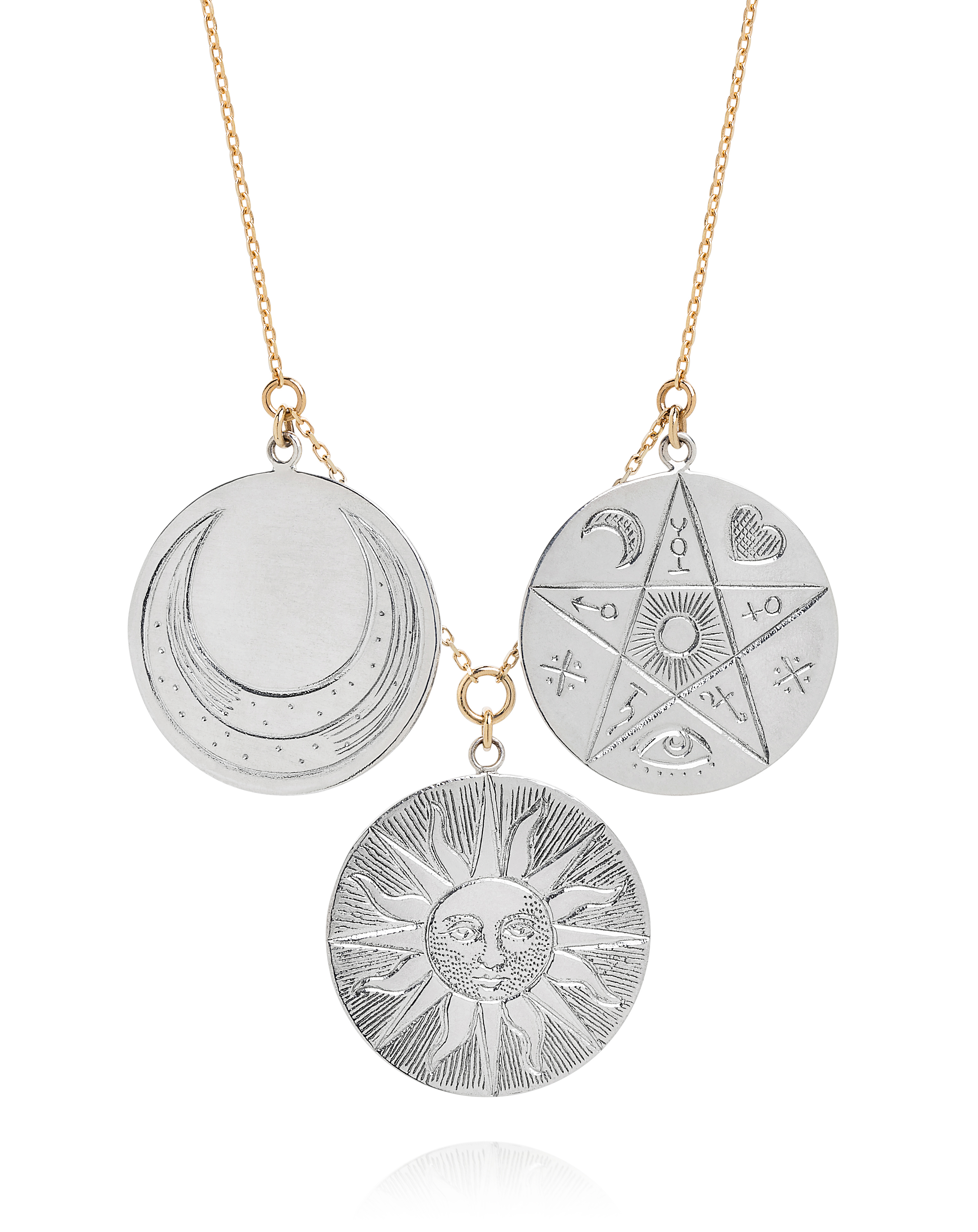 The Oracle Multi-Coin Necklace £485