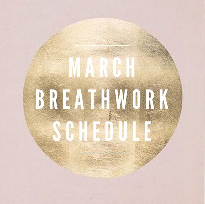 Erin Telford breathwork schedule march april 2016 on The Numinous