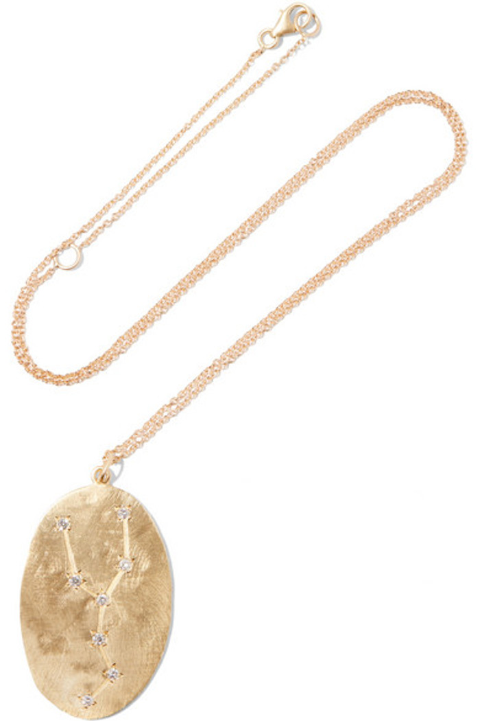 Brooke Gregson Taurus Necklace, $2340