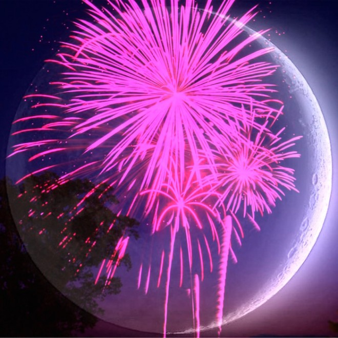aries new moon fireworks on The Numinous