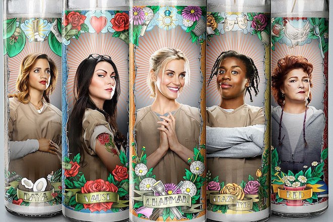 OITNB Season 4 candles on the Numinous