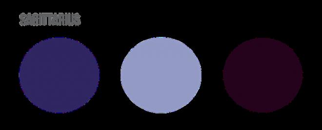 Sagittarius Colors