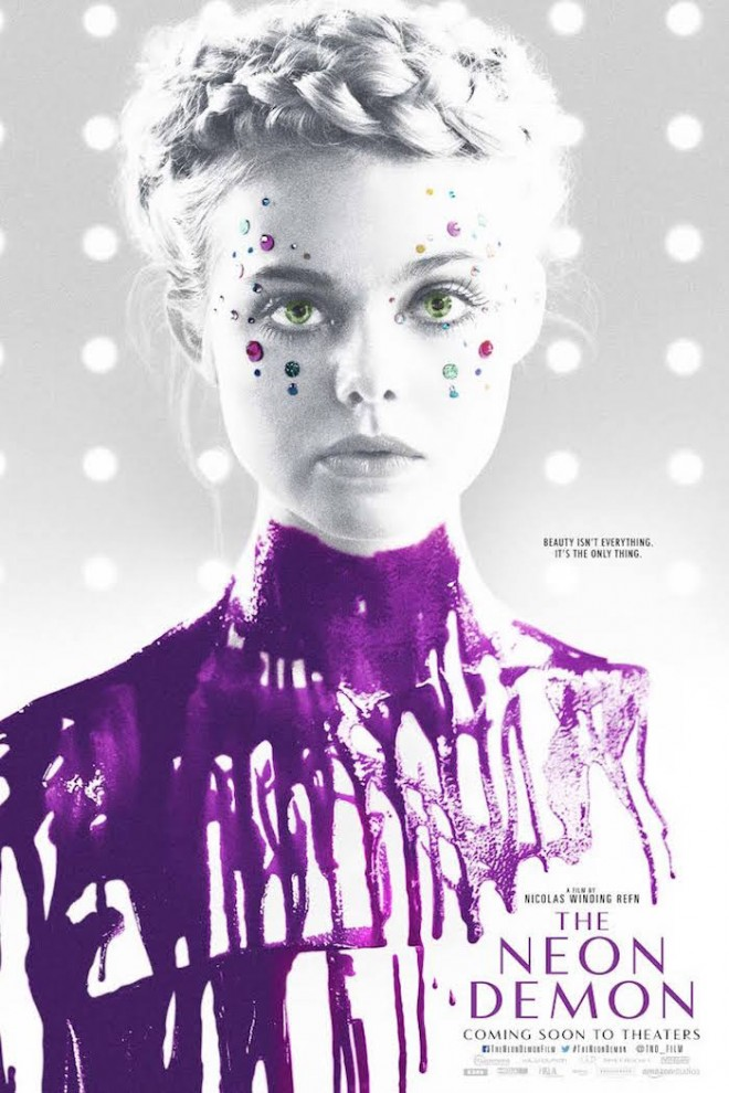 The Neon Demon poster on The Numinous